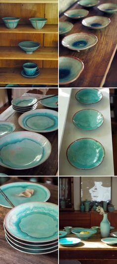 http://media-cache-ec0.pinimg.com/originals/40/d3/b9/40d3b9e91b6725069e375a1cf888fbf5.jpg : Japanese Pottery Más