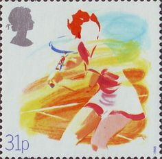 Sport 31p Stamp (1988) Tennis (Centenary of Lawn Tennis Association)