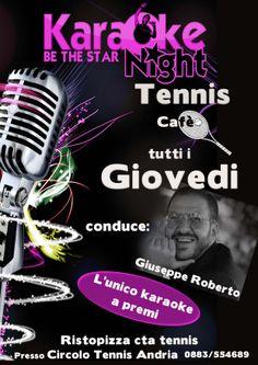 ogni giovedi il karaoke piu' esilarante del sud italia.....