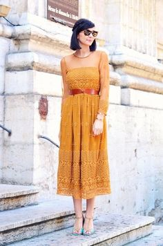 Céline Cavaillero - Zara Dress - Face the Fire
