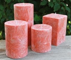 Made from natural palm wax - scented in Harvest Type and available in several different sizes. Candle Art, Scented Wax, Handmade Candles, Candle Making, Pillar Candles, Harvest, Palm, Candle Holders, Type