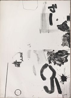 Robert Rauschenberg, White Stone in BlackProof Relating to Breakthrough II, 1965Lithograph