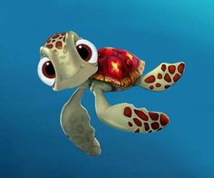 Squirt - fav character from Finding Nemo :)