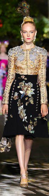 2015-16 Dolce & Gabbana Alta Moda