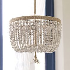Malibu Chandelier | Serena & Lily - does anyone else feel like they could make this for like $100 or is it just me?