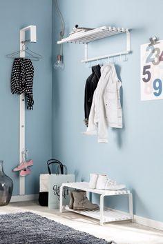 Ellos Home Kleshenger Mudroom, Bathroom Hooks, Sweet Home, Nursery, Cabinet, Storage, Inspiration, Furniture, Home Decor