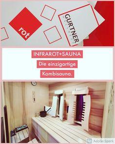Perfekt kombiniert - Infrarotkabine + Sauna, beides kann eigenständig verwendet werden. #sauna #saunadesign #Infrarotkabine #tiefenwärmekabine #wärmekabine #infrarotsauna #rotlichtanwendung #wellness #spa #designkabine #Einrichtung #Badezimmer #finnische #individuell #design #besonders #madeinaustria