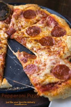Perfect Pepperoni Pizza Recipe