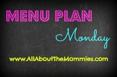 Menu Plan Monday Week of January 6th + Recipe/Craft Link Party #recipes #menuplanmonday #Bloggers - come link up your recipe or craft posts!