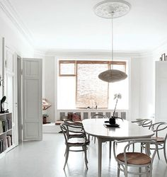 Loving the light-filled, neutral Copenhagen home      of Danish fashion designer Susanne Rutzou -                  ...