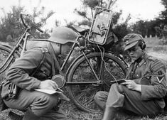 Rower wojskowy Truppenfahrrad (Tr.Fa.) » Encyklopedia Uzbrojenia ...