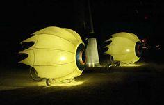 Eye art bikes, Burning Man 2005