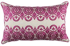 Kas Casablanca Cushion Berry from Domayne