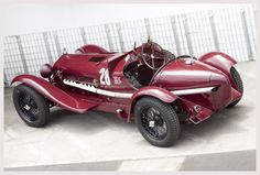 Alfa Romeo 2300 8C. Excellent example of how ahead of their time the Milanese were.