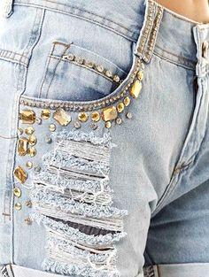 Compre online: http://www.lojaspompeia.com/short-jeans-feminino-azul/p