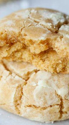 Brown Butter Cinnamon Crinkle Cookies