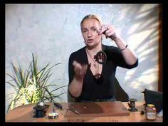 Как сделать шикарные украшения из кожи своими руками. Мастер класс.