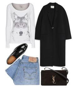 """Wolfing."" by schenonek on Polyvore featuring moda, Levi's, Acne Studios, Yves Saint Laurent, Athletic Vintage y Gucci"