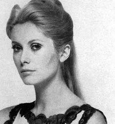 Catherine Deneuve by David Bailey, Vogue 1966