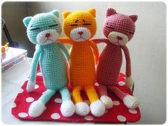 The World's Best Photos of amineko and crochet Crochet Toys, Knit Crochet, World Best Photos, Crochet Patterns, Crochet Ideas, Crochet Projects, Hello Kitty, Dinosaur Stuffed Animal, Plush
