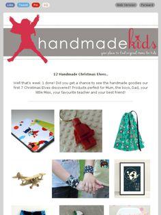 Christmas Gift Ideas - handmade all the way - Check out this Mad Mimi newsletter   at Handmade Kids  #handmadekids #christmasgiftideas #giftguide #giftideasforboys #handmadeinaustralia