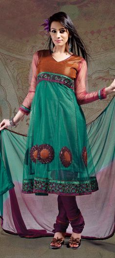 #SALWAR-KAMEEZ(Anarkali style)  Free shipping worldwide.......  Buy now @ http://www.indianweddingsaree.com/SalwarProduct/90222.html