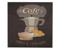Placa Decorativa Café Menu - 20X20cm | Westwing - Casa & Decoração