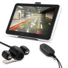 "7"" Car GPS Navigation Bluetooth AV-IN + Wireless Reverse Camera + Map #UnbrandedGeneric"