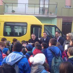 San Martino in Pensilis inaugurato nuovo scuolabus