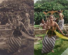 Javanese Dancer in Holland, 1928/ITA, Arnhem  Source: https://www.flickr.com/photos/12386296@N08/7716623096/