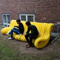 Yellow-Guerilla-Street-Furniture-by-Oliver-Schau