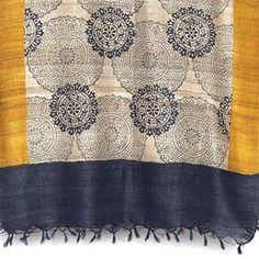 Paisley Tussar Silk #Scarf by Aeshaane: Neesha Amrish l £85 l V&A Shop #Christmas #wishlist