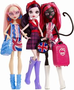 All about Monster High: Ghoulebrities in Londoom.