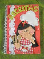 ♥: ♥ Caderno Decorado # Receitas