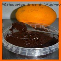 Pâte à tartiner chocolat noir/orange - Cuisine actuelle mobile