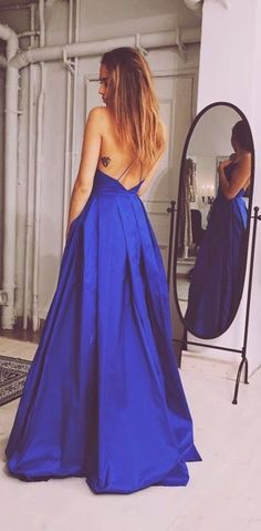 Royal Blue Prom Dress,Ball Gown Prom Dress,Backless Prom Gown,Backless Prom Dresses,Sexy Evening Gowns,New Fashion Evening Gown,Sexy Party Dress For Teens