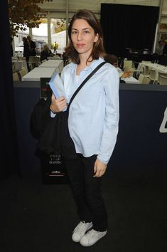 The Sofia Coppola Look Book Sofia Coppola Style, The Curated Closet, Looks Style, My Style, Comfy Heels, Charlotte Casiraghi, Working Woman, Parisian Style, Daily Wear