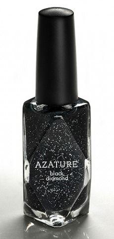 Most expensive nail polish: Azature $250,000 black diamond nail polish.
