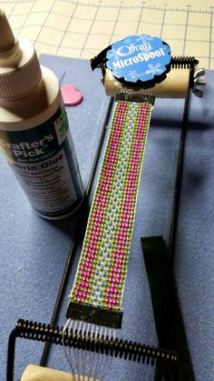 What-Nots: How to Finish a Loomed Bracelet!
