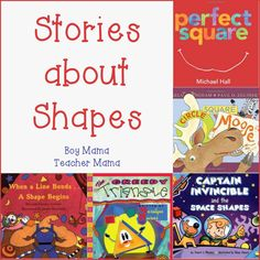 Book Mama: Stories about Shapes {After School Linky}