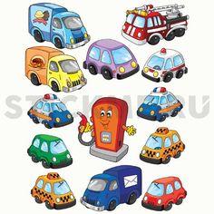 Машинки | stickme.ru