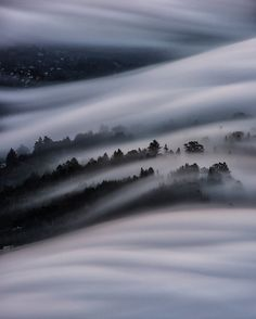San Francisco's Fog Looks Unbelievably Beautiful From Above