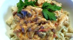 """Hungarian Mushroom """"Tokany"""" by Helen M. Hungarian Recipes, Family Meals, Stuffed Mushrooms, Yummy Food, Dishes, Plate, Delicious Food, Tableware, Cutlery"""