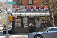 120 year-old Hole-in-the-Wall: Mama Louisa's Hero Shoppe...Prospect-Lefferts Gardens (Brooklyn!)
