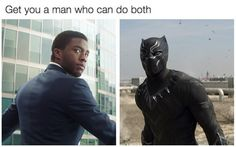. Our Lord and Saviour™ #BlackPanther #TChalla #TheAvengers #Marvel #CivilWar