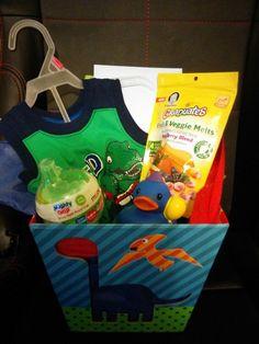 Birthday basket for 1 year old boy