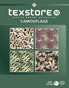 Vol 10 - Camouflage:  Inspirational Graphic Design For Fashion and Interiors