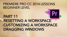 This is Part 11 in a multi-part series of lessons on how to edit and export video with Adobe Premiere Pro CC 2014. In this segment we delve into creating a c...