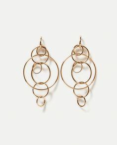 ZARA - WOMAN - MULTI-HOOP EARRINGS