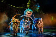 https://flic.kr/p/GaGwjy | Bruce, Anchor & Chum | Today's photo tour sends us to Disney's Animal Kingdom for a shot of The Finding Nemo The Musical Show. Shooting this show can be a challenge unless you have the correct lens. I have found that the Nikon, 70-200mm, 2.8 is the way to go especially if you are sitting in the last row of the theater. I was amazed at how sharp this lens was under low light conditions. How do you shoot this show? Have a magical day!  Visit Disney Photo Tour on…